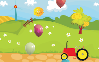 Screenshot of Baby Farm Balloon Pop