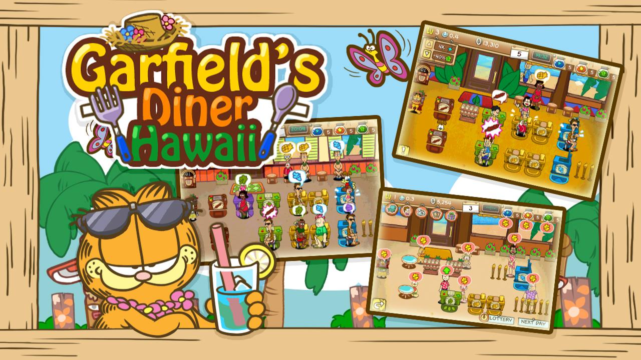 Garfield's Diner Hawaii Screenshot 6