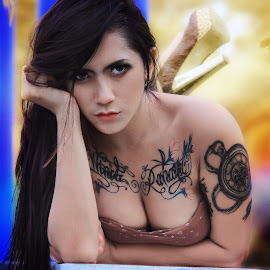by Alwan Tafsiri - People Body Art/Tattoos