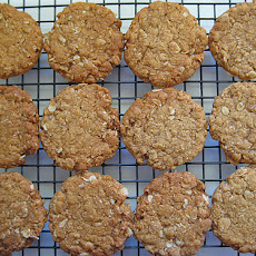 The Almost Anzac Biscuit
