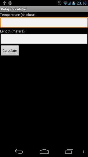 Delay Calculator