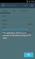 Screenshot of FTPDroid unlocker