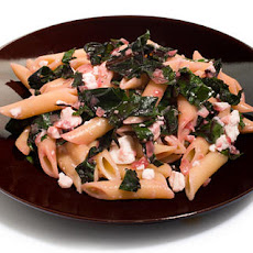 Beet Greens and Feta Pasta Recipe