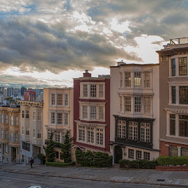 Nob Hill by Jack Turkel - Buildings & Architecture Homes ( san fransisco, slanted )