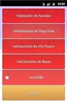 Screenshot of Felicitaciones de Navidad