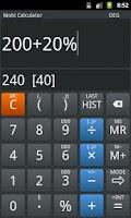 Screenshot of Mobi Calculator PRO