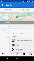 Screenshot of Locus - addon GeoGet Database