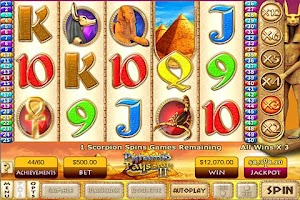 Screenshot of Pyramid Pays 2 Slots