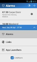 Screenshot of LinkAlarm - Alarm Clock