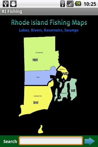 Rhode Island Fishing Maps 1.5K