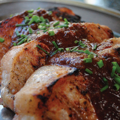 BBQ Freaks Tamarind-Glazed Pork Chops