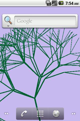 二維動畫片樹的