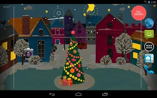 Screenshot of KM Winter town Wallpaper free