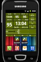 Screenshot of QuickONF Battery Widgets