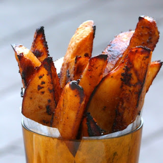 Oven Baked BBQ Fries