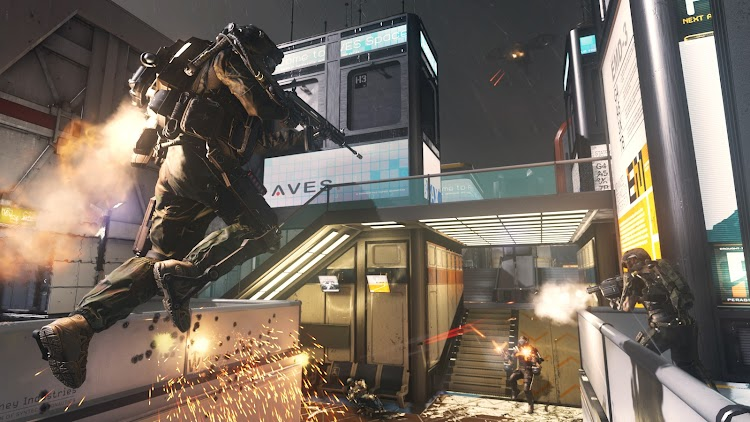 Sledgehammer bringing a touch of Dead Space's immersive design to Call Of Duty: Advanced Warfare