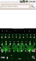 Screenshot of Pot Leaf 420 Keyboard