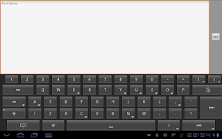 Screenshot of HintKeys Free Keyboard