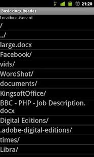 Download Basic docx Reader APK for Android Kitkat