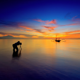 potographer on the spot by Jacki Aza - Landscapes Sunsets & Sunrises
