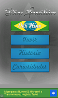 Screenshot of Brasilian National Anthem