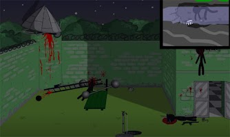 Screenshot of Stickman Prison Escape