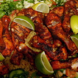 Spicy Tandoori Chicken Drumsticks