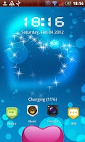 Screenshot of Sweet heart free MagicLocker