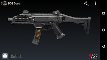 Screenshot of BO2 Guns