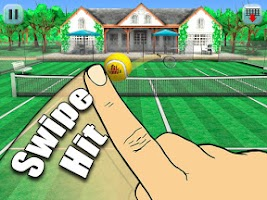 Screenshot of Hit Tennis 3
