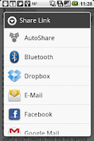 Screenshot of AutoShare