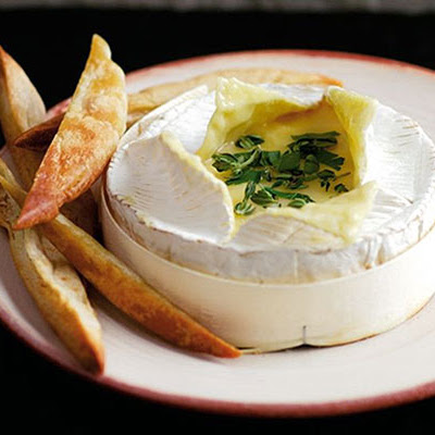 Baked Cheese With Herbs