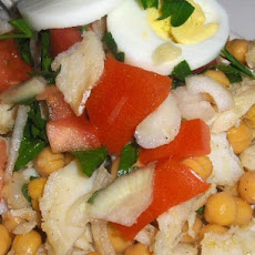 Portuguese Chickpea and Cod Salad