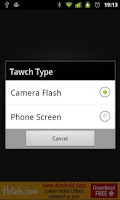 Screenshot of Tawch (Torch/Flashlight App)