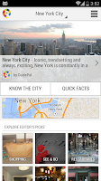 Screenshot of New York City Guide