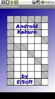 Screenshot of Android Kakuro