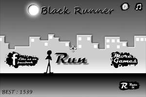 Screenshot of Black Runner
