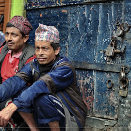:) by Anup Sunam - People Street & Candids ( portrait, darjeeling, street photography )