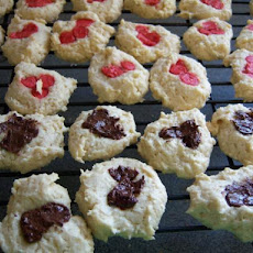 Coconut Cream Cheese Drop Cookies