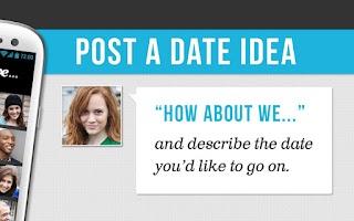 Screenshot of HowAboutWe Dating
