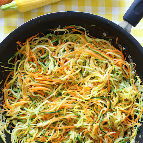 Sauteed Julienned Summer Vegetables