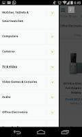 Screenshot of pricena UAE Shopping