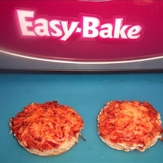 Easy Bake Oven English Muffin Pizza