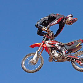Freestyle Competition by Dirk Luus - Sports & Fitness Motorsports ( motocross, tricks, motorcycle, motorsport, freestyle )