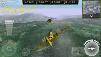 Screenshot of FighterWing 2 Flight Simulator