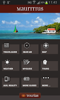Screenshot of Mauritius Travel Guide