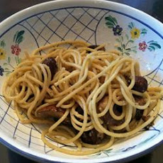 Linguine with Portobello Mushrooms