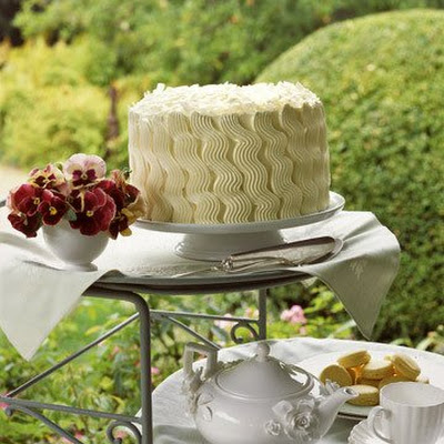 Teatime Coconut Layer Cake