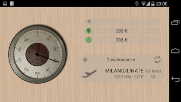 Screenshot of Accurate Altimeter Free