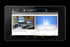Screenshot of NotifierPro